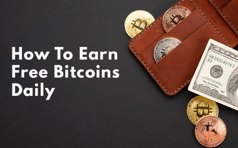 How to Earn Free Bitcoins Daily without Investment
